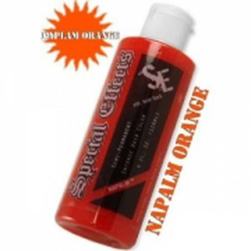 Special Effects Hair Dye Napalm Orange